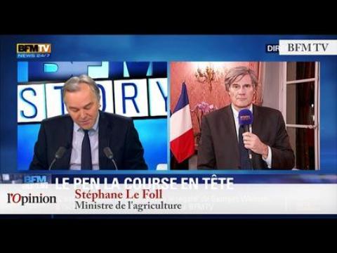 """TextO' : Marine Le Pen : """"Le FN peut arriver très largement en tête des présidentielles"""""""