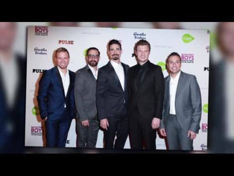 Les Backstreet Boys à la première de leur documentaire