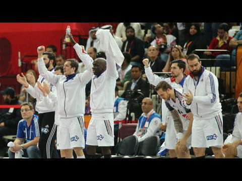 La France championne du monde de handball après sa victoire face au Qatar