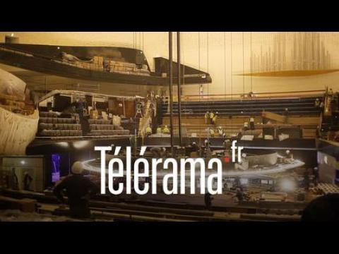 Philharmonie de Paris : visite avec le violoniste Franck Della Valle