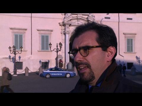 Italie: le président Napolitano a démissioné