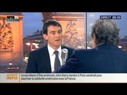 Bourdin Direct: Manuel Valls - 12/01