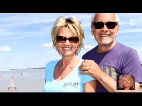 Jeux coquins entre Sophie Davant et Patrice Laffont - ZAPPING PEOPLE DU 15/01/2015