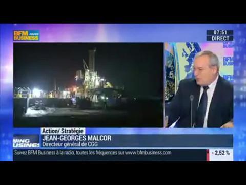 """CGG, spécialiste de la géophysique: """"Une science rare sur la planète !"""": Jean-Georges Malcor - 16/12"""