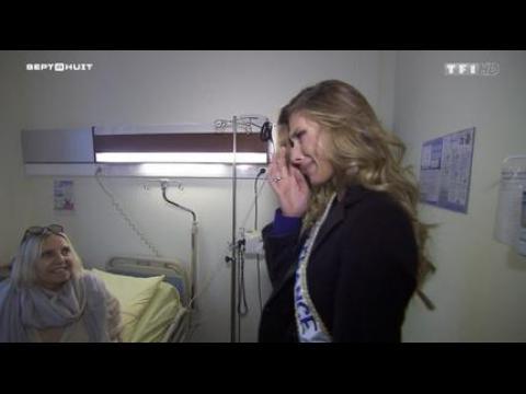 Les larmes de Camille Cerf (Miss France 2015)  - ZAPPING PEOPLE DU 15/12/2014