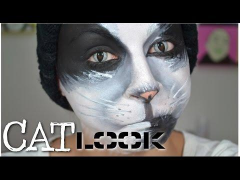 Maquillage d 39 halloween sir ne inspiration tutoriel maquillage sur orange vid os - Maquillage halloween chat ...