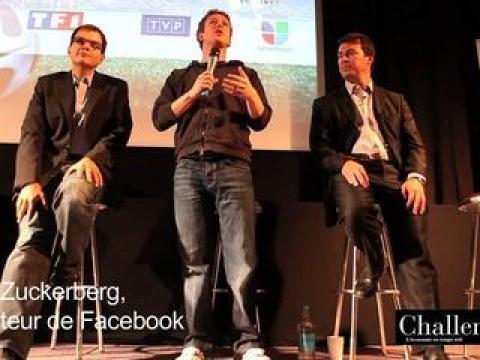 Mark Zuckerberg parle de Facebook et de la confidentialité