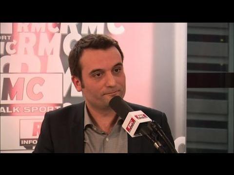 """Florian Philippot : """"François Hollande et Manuel Valls sont rivaux"""""""