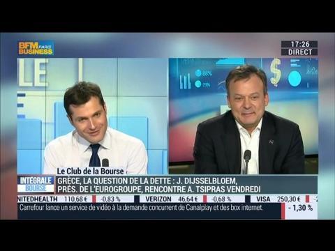 Le Club de la Bourse: Didier Demeestère, Franck Dixmier et Xavier Robert - 27/01