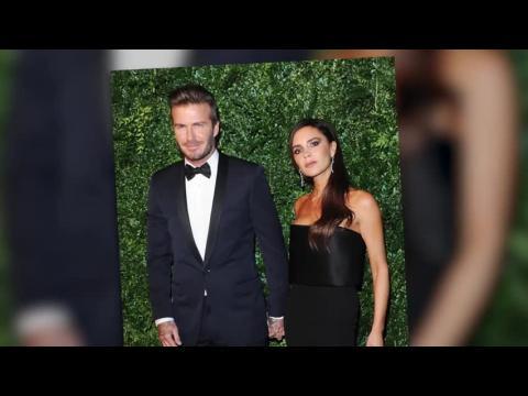 David Beckham est sur le tapis rouge après un accident de voiture