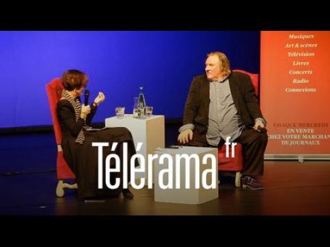 "Extrait - Depardieu : ""Je suis profondément spirituel"""