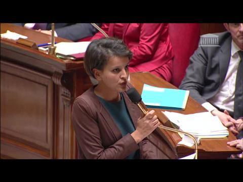 Révision de la carte des ZEP: Vallaud-Belkacem s'explique à l'Assemblée