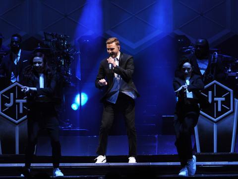 Vidéo : Découvrez la seconde partie du concert de Justin Timberlake !