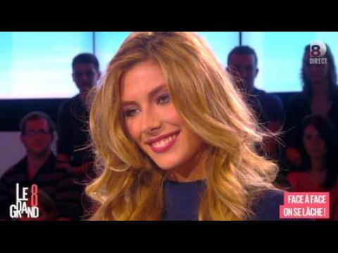 Camille Cerf (Miss France 2015) parle de sa poitrine - ZAPPING PEOPLE DU 06/01/2015