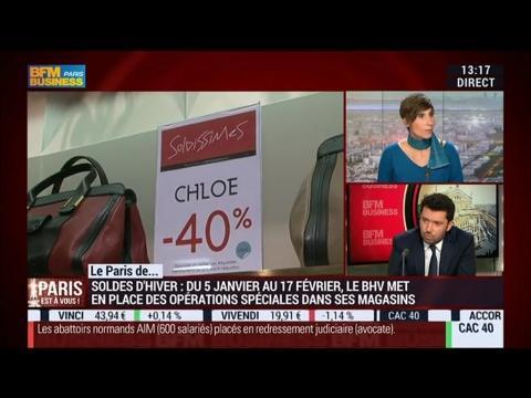 Le Paris d'Alexandre Liot, BHV Marais – 06/01