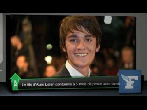 Le fils d'Alain Delon condamné à de la prison avec sursis