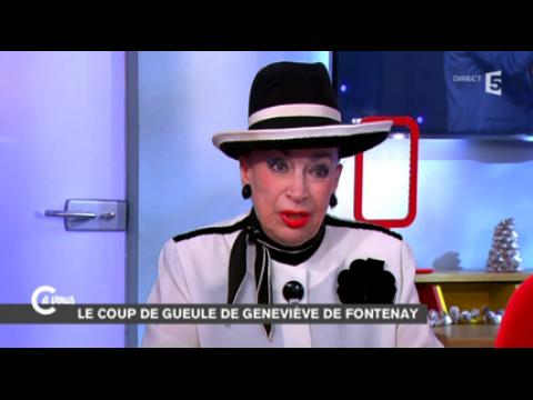 Geneviève de Fontenay clashe Julien Lepers - ZAPPING PEOPLE DU 19/12/2014