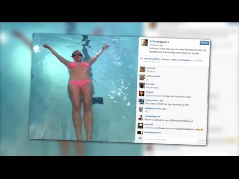 Britney Spears se met à la natation avant la reprise de sa résidence à La Vegas