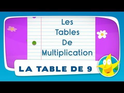 Comptines pour enfants la table de 4 apprendre les for Apprendre la table de 6