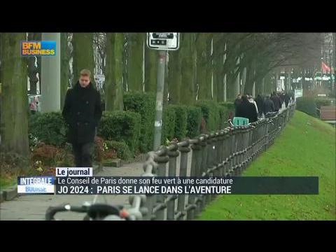 JO 2024: Paris se lance dans l'aventure