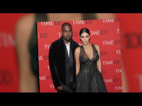 Kim Kardashian et Kanye West assistent au gala TIME 100