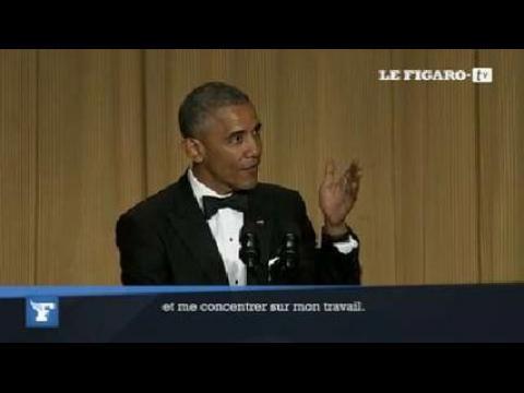 Le one-man show de Barack Obama devant la presse
