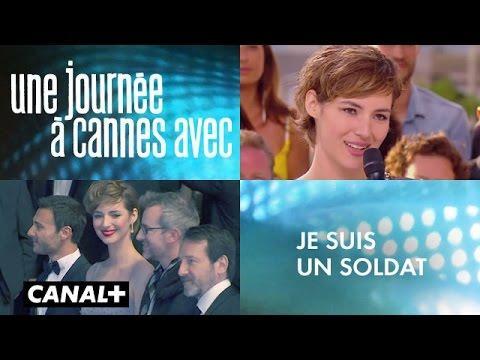 Une journée à Cannes avec Je suis un soldat - Louise bourgoin, Jean-Hugues Anglade,