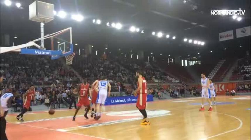 Basket-ball - Pro A : Strasbourg, trop fort pour le SPO Rouen