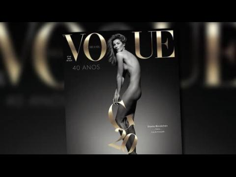 Gisele Bündchen pose nue pour Vogue Brésil