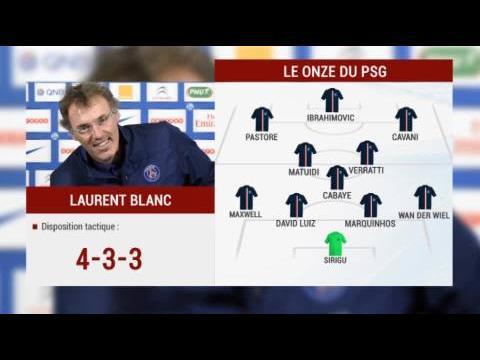 Barça/PSG Les compos probables