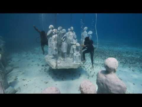 Jason deCaires Taylor and Museo Subaquatico de Arte