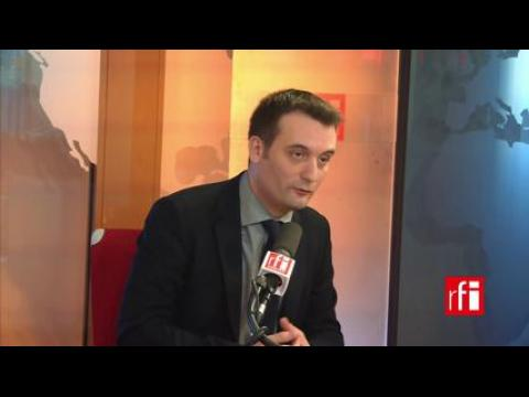 F.Philippot: la crise au FN «est une affaire de perspective politique»