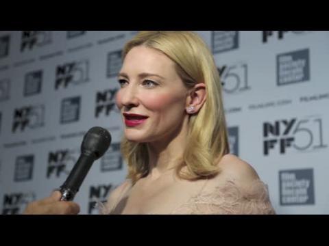 La star de Carol, Cate Blanchett, dit avoir eu plusieurs relations avec des femmes