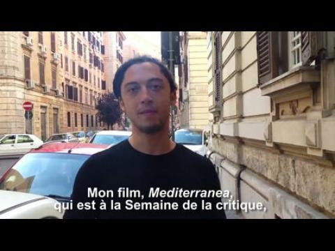 """Jonas Carpignano, réalisateur de """"'Mediterranea"""" - selfie vidéo"""