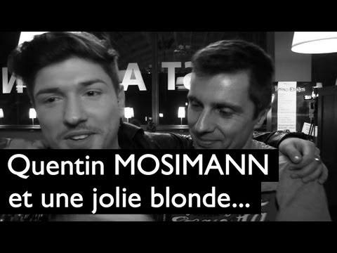 Quentin Mosimann et une jolie blonde...