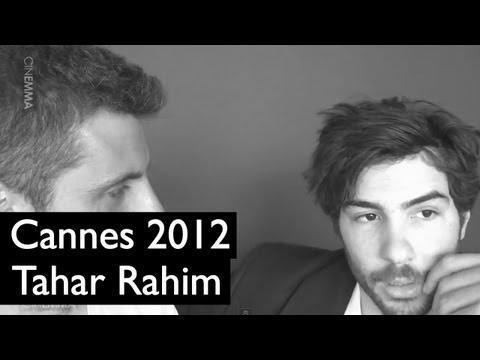 Festival de Cannes (23/05) : Tahar Rahim / A Perdre la Raison