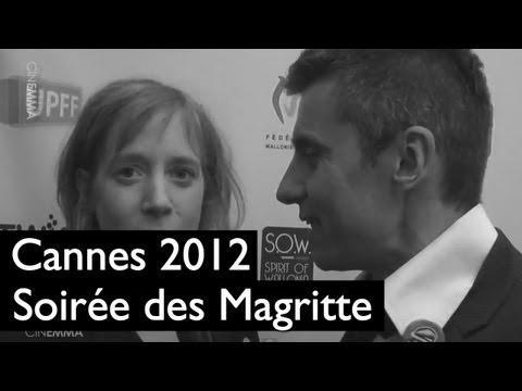 Festival de Cannes (22/05) : Soirée des Magritte