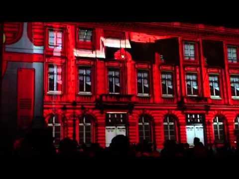 Light Show 3D - Fête de la Bande dessinée / Bruxelles (08/09/12)