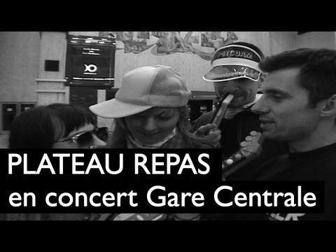 Plateau Repas en concert à la Gare Centrale de Bruxelles