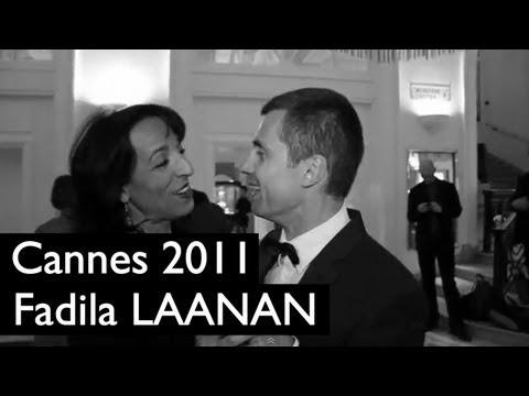 Cannes (17/05) : Fadila Laanan