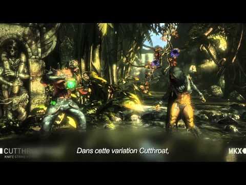 [MULTI] Mortal Kombat X : Gameplay Trailer - Kano (Variations de personnage)