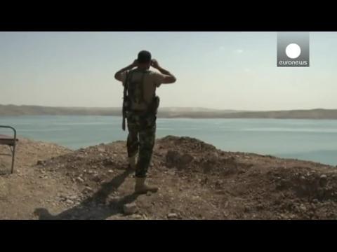 Los kurdos recuperan gran parte de la presa de Mosul al Estado Islámico