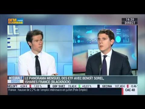 Secteur des ETF/ETP: une collecte record de 23,3 milliards de dollars en août: Benoit Sorel, dans Intégrale Bourse - 10/09