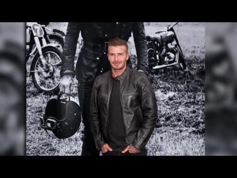 David Beckham présente la nouvelle collection de Belstaff