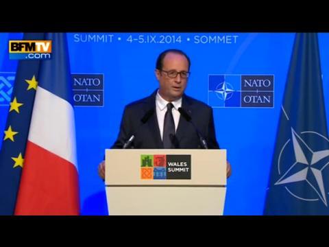 """Hollande: """"Je vous l'affirme ici, j'agis et j'agirai jusqu'au bout"""""""