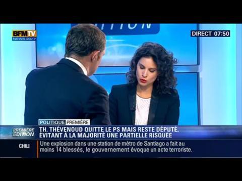 Politique Première: Thomas Thévenoud quitte le PS, mais reste député – 09/09