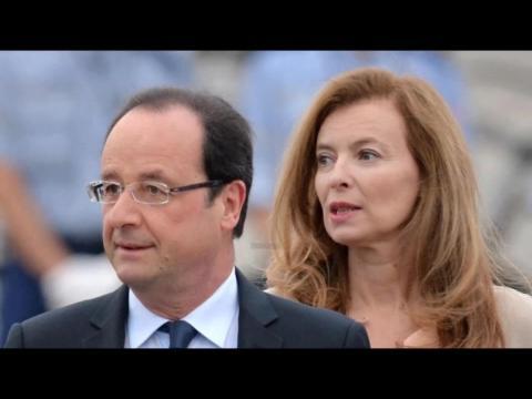 Valérie Trierweiler raconte la demande en mariage de François Hollande