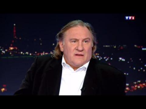 """Gérard Depardieu : """"Je ne suis pas alcoolique"""" - ZAPPING PEOPLE DU 03/10/2014"""