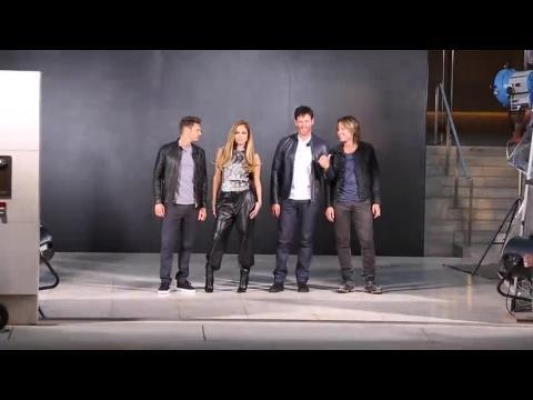 Jennifer Lopez se prépare pour American Idol