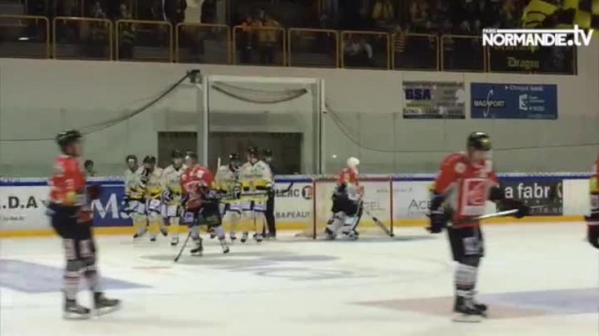 Hockey sur glace : Rouen écrase Amiens en amical